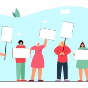 europei e manifestazioni in vista corsa a cartelloni e striscioni